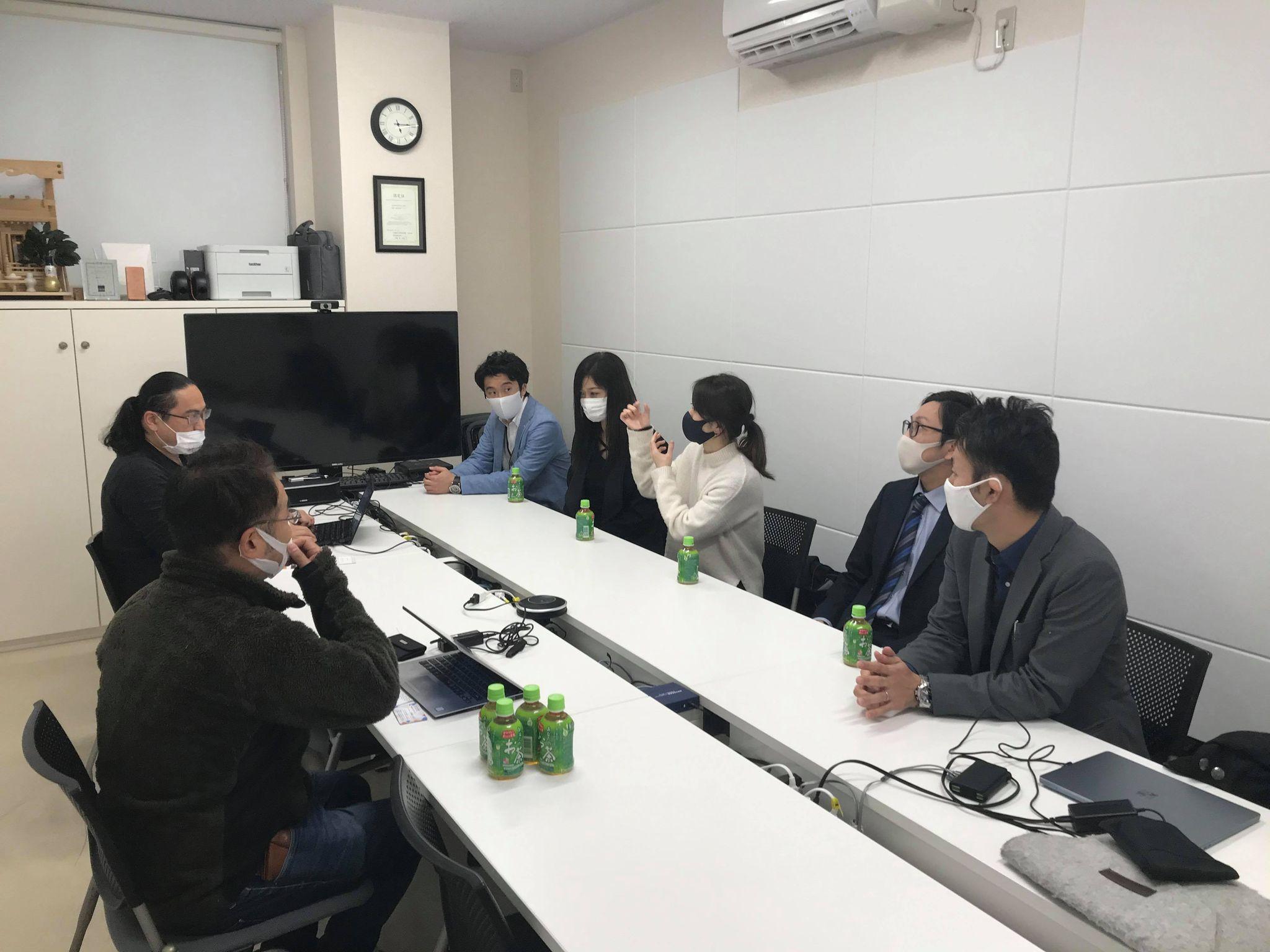 2月16日(火)16:00~ VR座談会を行いました