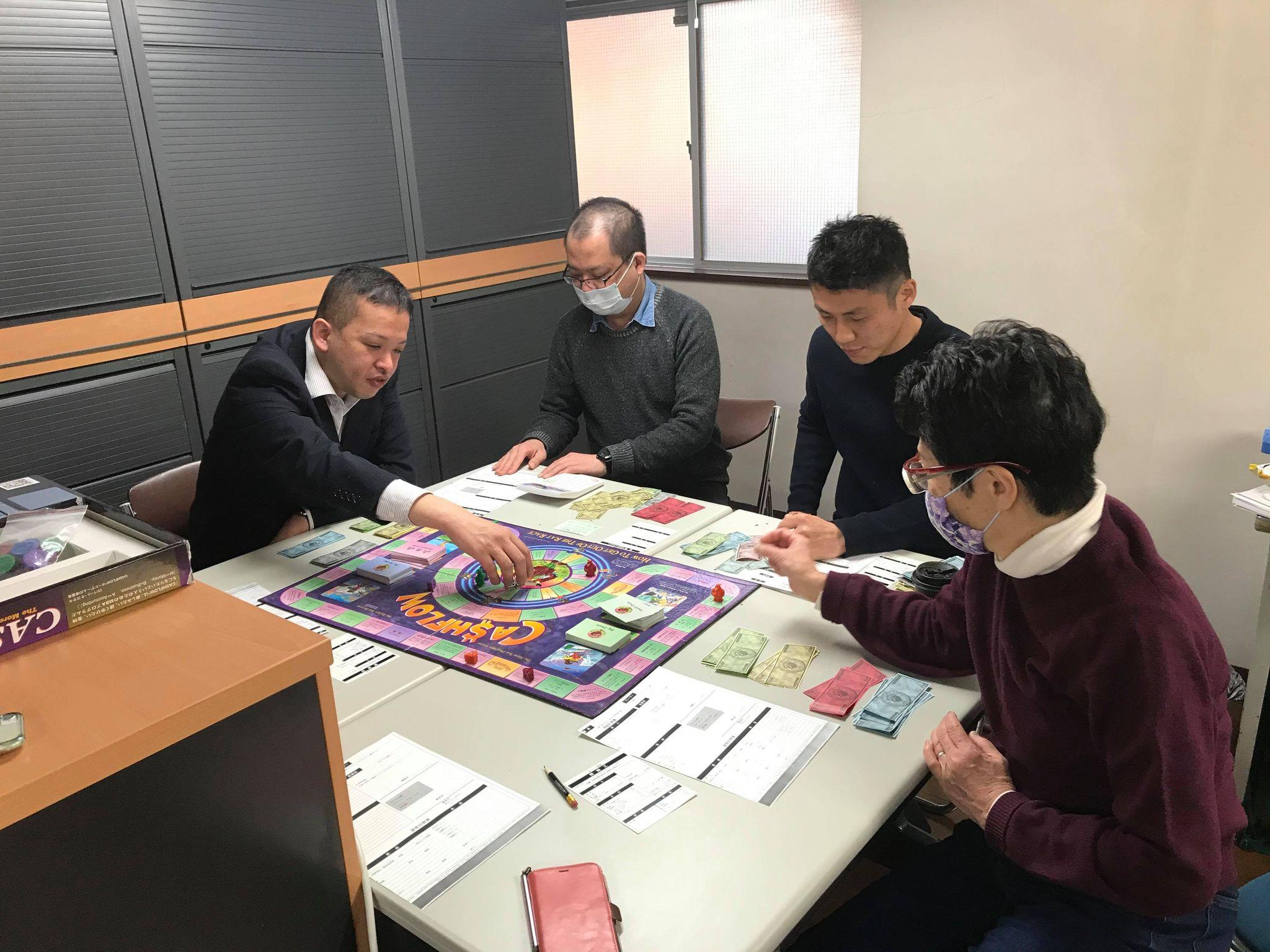 2月28日(木)13:30~ NKCS士業会限定開催!税理士&会計士が主催のキャッシュフローゲーム会 101(初級編)を開催しました