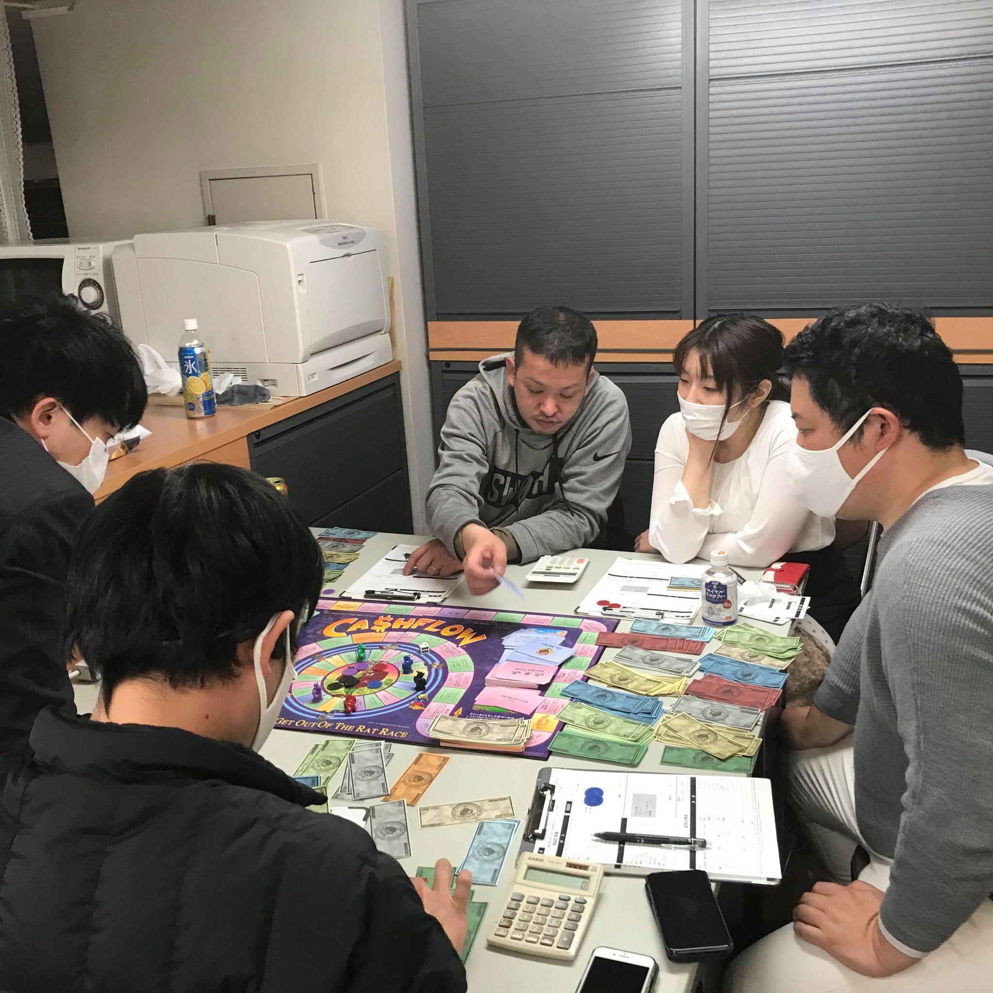 2月24日(水)19:00~ NKCS士業会限定開催!現役投資家・FPが主催の金融リテラシーを身に着けるキャッシュフローゲーム会 101(初級編)を開催しました