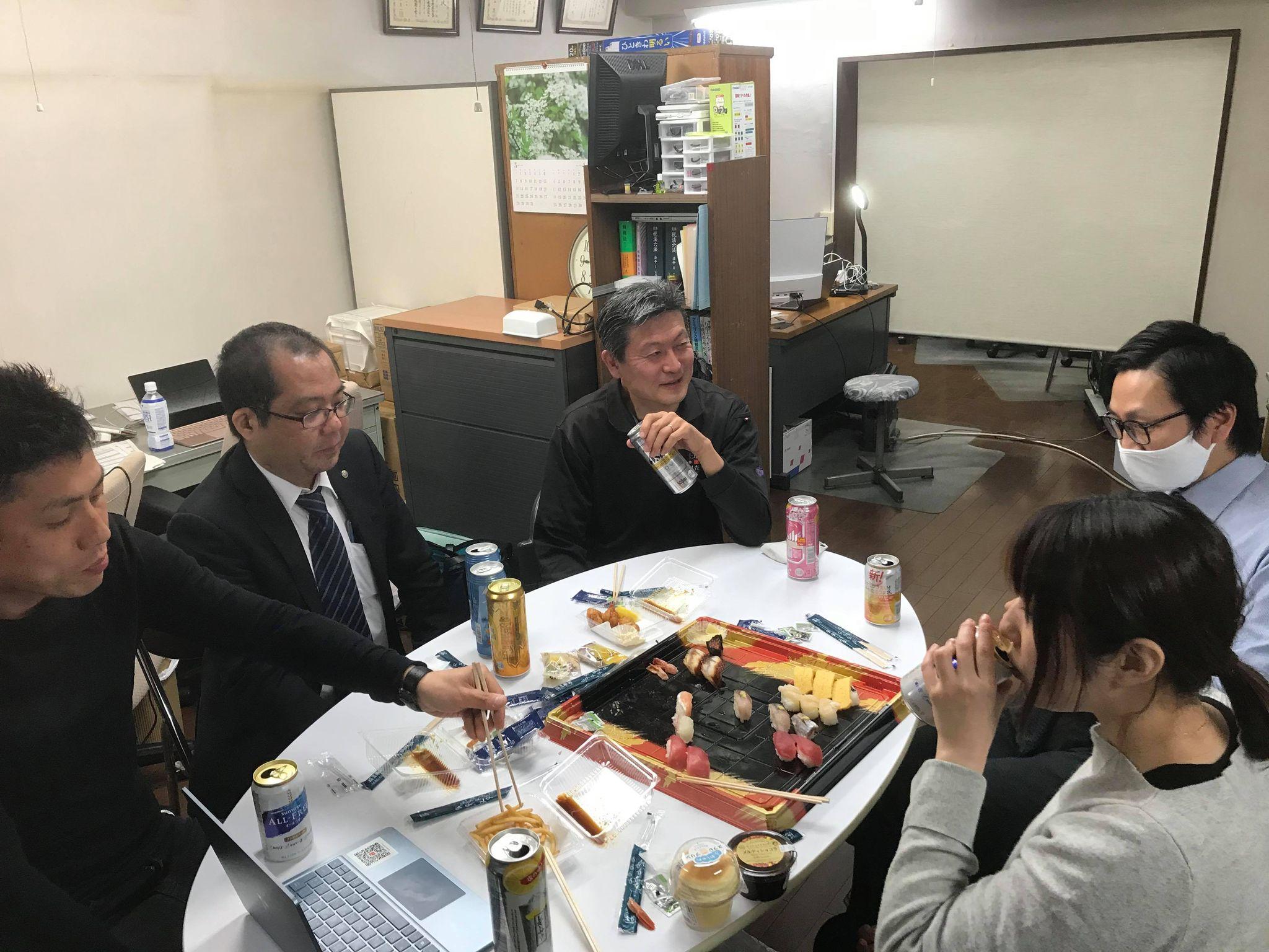 3月15日(月) 19:00~ 士業飲み会を開催しました