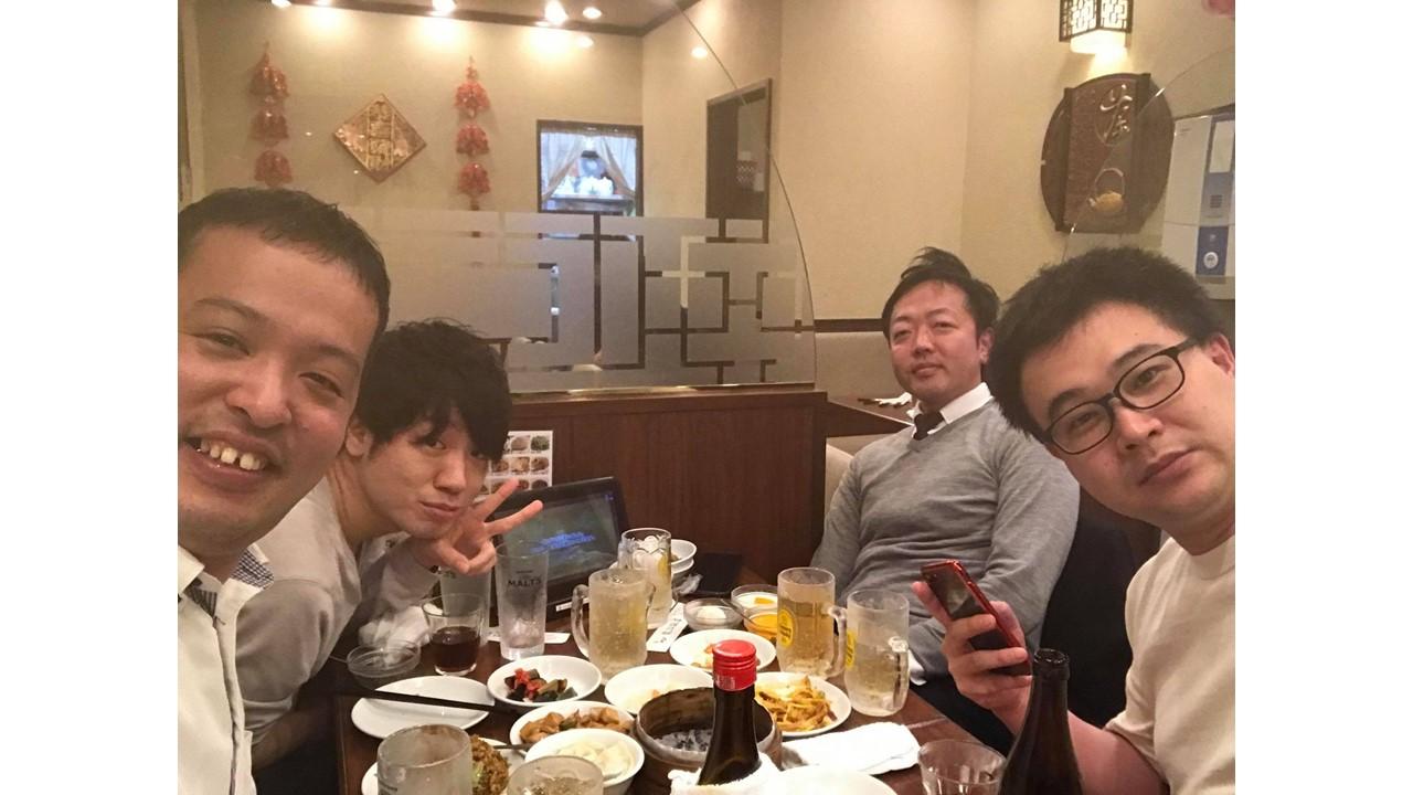 11月7日(土)19:00~ 中華以外にて、NKCSホールディングス戦略チームの集いを開催しました!