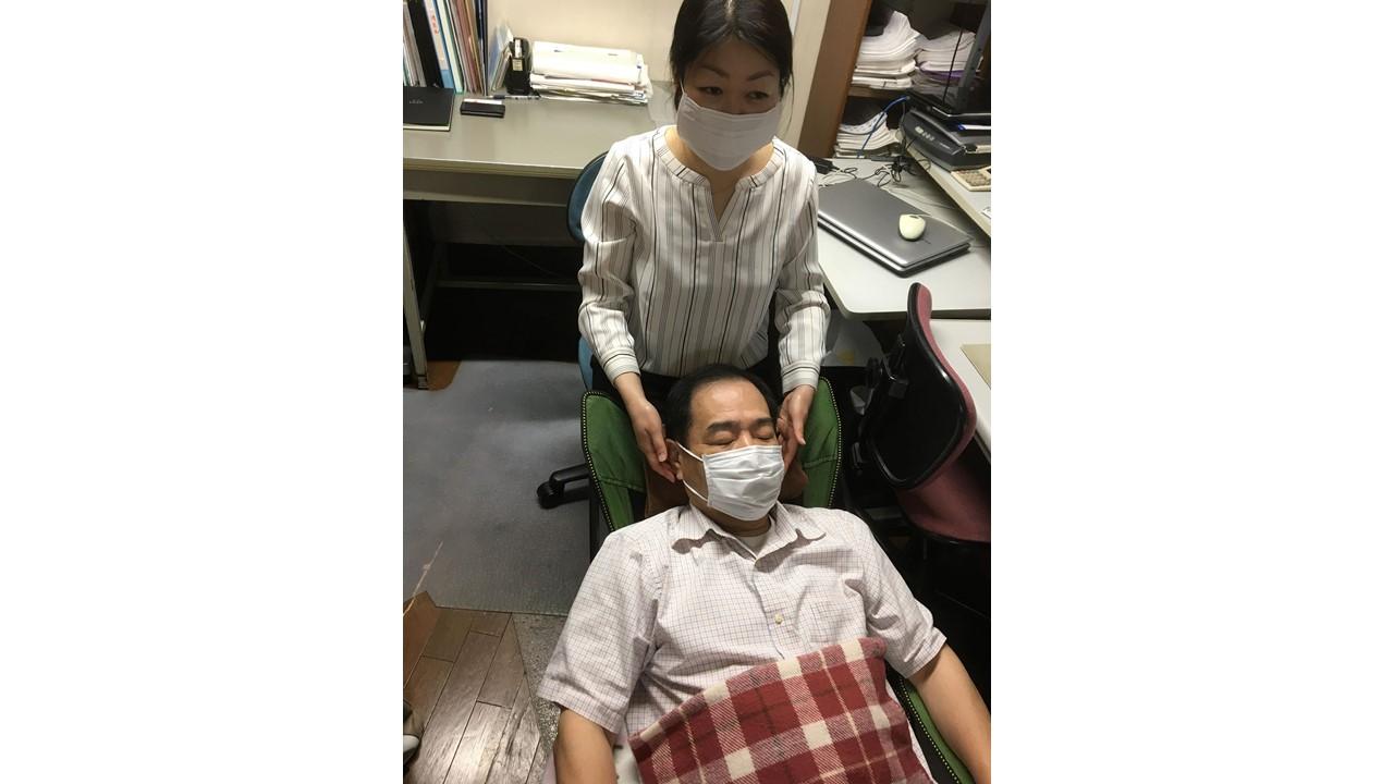 6月4日(木)15:00~ 【オフィスで頭のデトックス】を体験しました